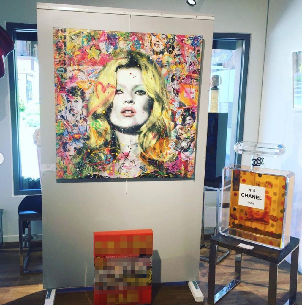 Gardani Pop Art Original Paintings Limited Editions